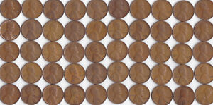 1936 P LINCOLN WHEAT CENT ROLL CIRCULATED