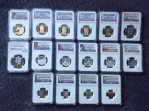 Click now to see the BUY IT NOW Price! 2012 S   NGC 70 FULL SET  16 COINS
