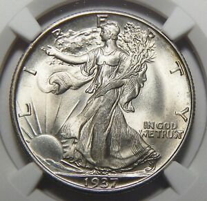 Click now to see the BUY IT NOW Price! 1937 S NGC MS67 WALKING LIBERTY HALF DOLLAR