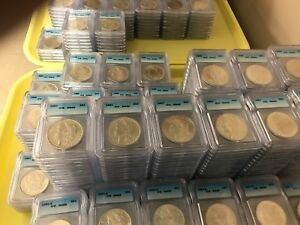 Click now to see the BUY IT NOW Price! PRE 1921 SILVER MORGAN DOLLAR ICG MS65 S$1 LOT OF 250 MIXED DATES AND MINT MARKS