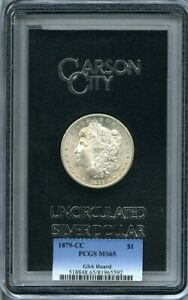 Click now to see the BUY IT NOW Price! 1879 CC $1 MORGAN SILVER DOLLAR GSA HOARD MS65 PCGS POP 3