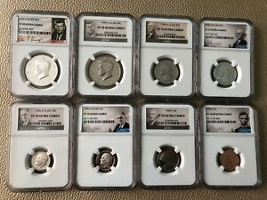 Click now to see the BUY IT NOW Price! 1996 S   NGC 70  SILVER & CLAD FULL SET  8 COINS