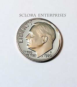 1980 S ROOSEVELT  PROOF  DIME
