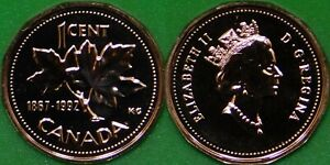 1992 CANADA PENNY GRADED AS PROOF LIKE FROM ORIGINAL SET