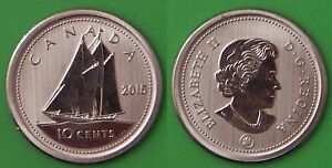 2015 CANADA 10 CENTS FROM SPECIMEN SET