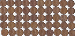 1948 P LINCOLN WHEAT CENT ROLL CIRCULATED