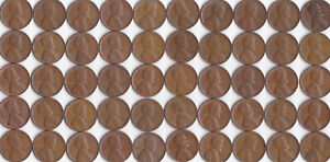 1953 P LINCOLN WHEAT CENT ROLL CIRCULATED