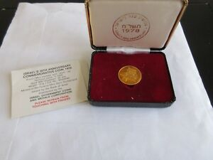 Click now to see the BUY IT NOW Price! 1978  ISRAEL 30TH ANNIVERSARY  PROOF  12G  GOLD 900  NGC  PF 69  ULTRA CAMEO