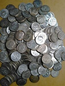 Click now to see the BUY IT NOW Price! $1000 FACE KENNEDY HALF DOLLAR 1965   1969 SILVER 40  2000 COINS 100 ROLLS