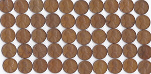 1941 P LINCOLN WHEAT CENT ROLL CIRCULATED