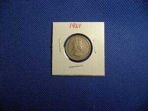 1964 BRITISH CARIBBEAN TERRITORIES 25 CENTS   NICE WORLD COIN