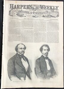 1863 CIVIL WAR NEWSPAPER JEWISH GOLD PANIC ON WALL STREET NUMISMATICS JUDAICA