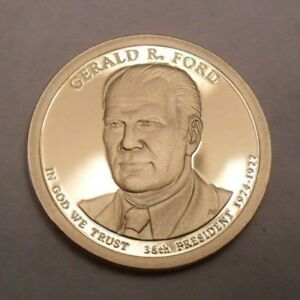 2016 S GERALD R. FORD PRESIDENTIAL   PROOF  DOLLAR COIN