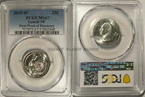 Click now to see the BUY IT NOW Price! 2019 W LOWELL NP QUARTER PCGS MS67 FIRST WEEK OF DISCOVERY 1ST WEST POINT 25C