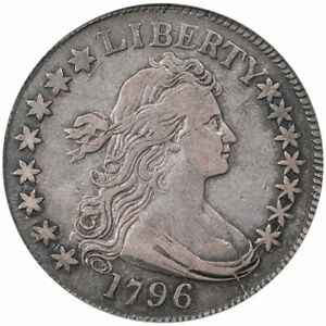 Click now to see the BUY IT NOW Price! 1796 50C 15 STARS O 101 T.1 R.5 PCGS VF30