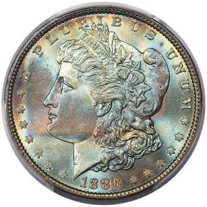 Click now to see the BUY IT NOW Price! 1886 $1 PCGS MS67  CAC