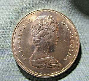 1969 CANADA 50 CENTS COIN HIGH GRADE