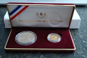 Click now to see the BUY IT NOW Price! UNITED STATES MINT 1988 OLYMPIC COINS/ COMMEMORATIVE PROOF SET WITH COA