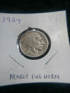 1924 BUFFALO NICKEL    VF
