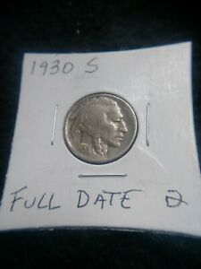 1930 S BUFFALO NICKEL