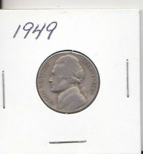 1949 JEFFERSON NICKEL