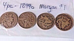 Click now to see the BUY IT NOW Price! MORGAN SILVER DOLLAR LOT // MIXED DATES // CIRCULATED // 90  SILVER    LOT OF 25