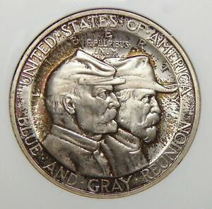 Click now to see the BUY IT NOW Price! 1936 NGC MS66 GETTYSBURG HALF DOLLAR SILVER COMMEMORATIVE