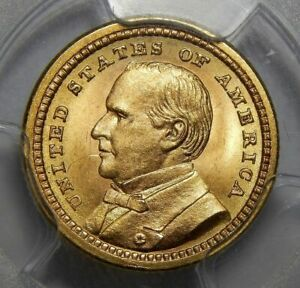 Click now to see the BUY IT NOW Price! 1903 PCGS MS65 MCKINLEY LOUISIANA PURCHASE GOLD DOLLAR COMMEMORATIVE