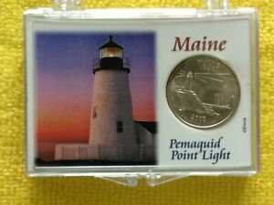 2003  P. MAINE STATE QUARTER FROM. BU.   FREE GIFT. WITH PROACTIVE DISPLAY CASE