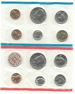 1972 U.S. MINT SET OF 11 UNCIRCULATED COINS IN MINT PACKAGE