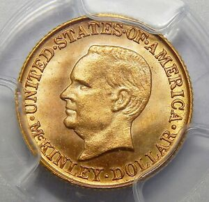 Click now to see the BUY IT NOW Price! 1916 PCGS MS67 MCKINLEY GOLD DOLLAR COMMEMORATIVE
