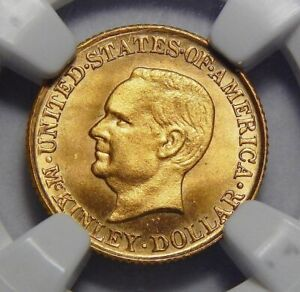 Click now to see the BUY IT NOW Price! 1916 NGC MS67 MCKINLEY GOLD DOLLAR COMMEMORATIVE