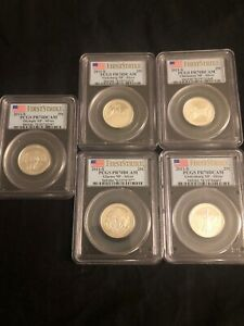 Click now to see the BUY IT NOW Price! 2011 S SILVER NATIONAL PARKS QUARTER SET PCGS PR70DCAM FIRST STRIKE