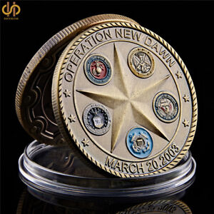 2003 OPERATION NEW DAWN SAINT GEORGE COMMEMORATIVE CHALLENGE COIN COLLECTION