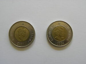 2 DOLLARS   CANADIAN COIN 2001 OR 2004   CANADA   TOONIE