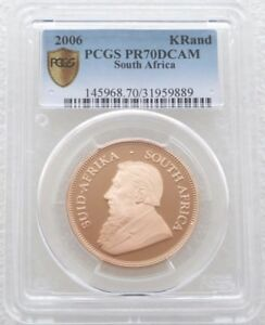 Click now to see the BUY IT NOW Price! 2006 SOUTH AFRICA KRUGERRAND GOLD PROOF 1OZ COIN PCGS PR70 DCAM