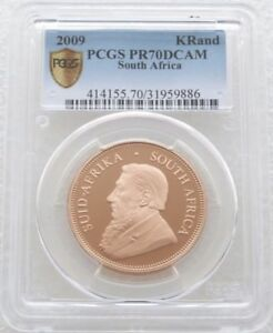 Click now to see the BUY IT NOW Price! 2009 SOUTH AFRICA KRUGERRAND GOLD PROOF 1OZ COIN PCGS PR70 DCAM