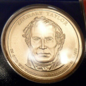 2009 P ZACHARY TAYLOR PRESIDENTIAL   MINT CELLO