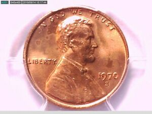 1970 S LINCOLN MEMORIAL CENT PCGS MS 64 RD LARGE DATE 33353504 VIDEO