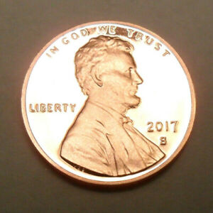 2017 S LINCOLN SHIELD   PROOF   CENT / PENNY