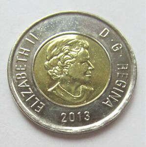 2013 CANADA  2 DOLLAR TOONIE   COMBINED SHIPPING