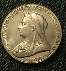 1837 1897 DIAMOND JUBILEE OF QUEEN VICTORIA MEDAL COIN