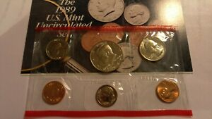 1989 UNCIRCULATED MINT SET