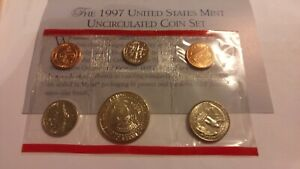 1997 UNCIRCULATED MINT SET