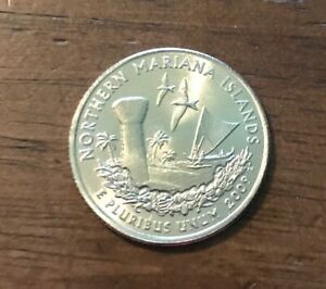 2009 D NORTHERN MARIANA ISLANDS TERRITORY QUARTER  BU  1017