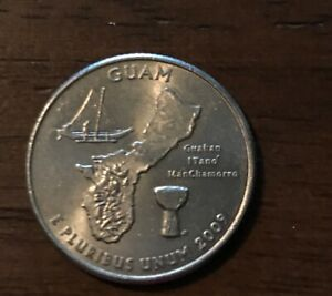 2009 P GUAM U.S. TERRITORIES QUARTER  50  OFF 10  COINS  1017