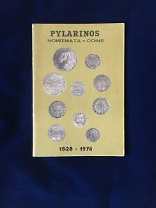 PYLARINOS MODERN GREEK COINS 1828   1973 CATALOGUE