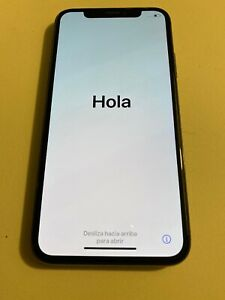 APPLE IPHONE X   256GB   SPACE GREY  VODAFONE  USED