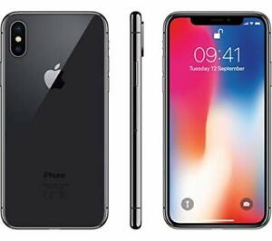 WARRANTY    APPLE IPHONE X   64GB   SPACE GRAY  SPRINT ONLY  CLEAN ESN