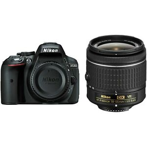 NIKON D5300 DIGITAL SLR CAMERA WITH 18 55MM LENS   FREE EXTRAS